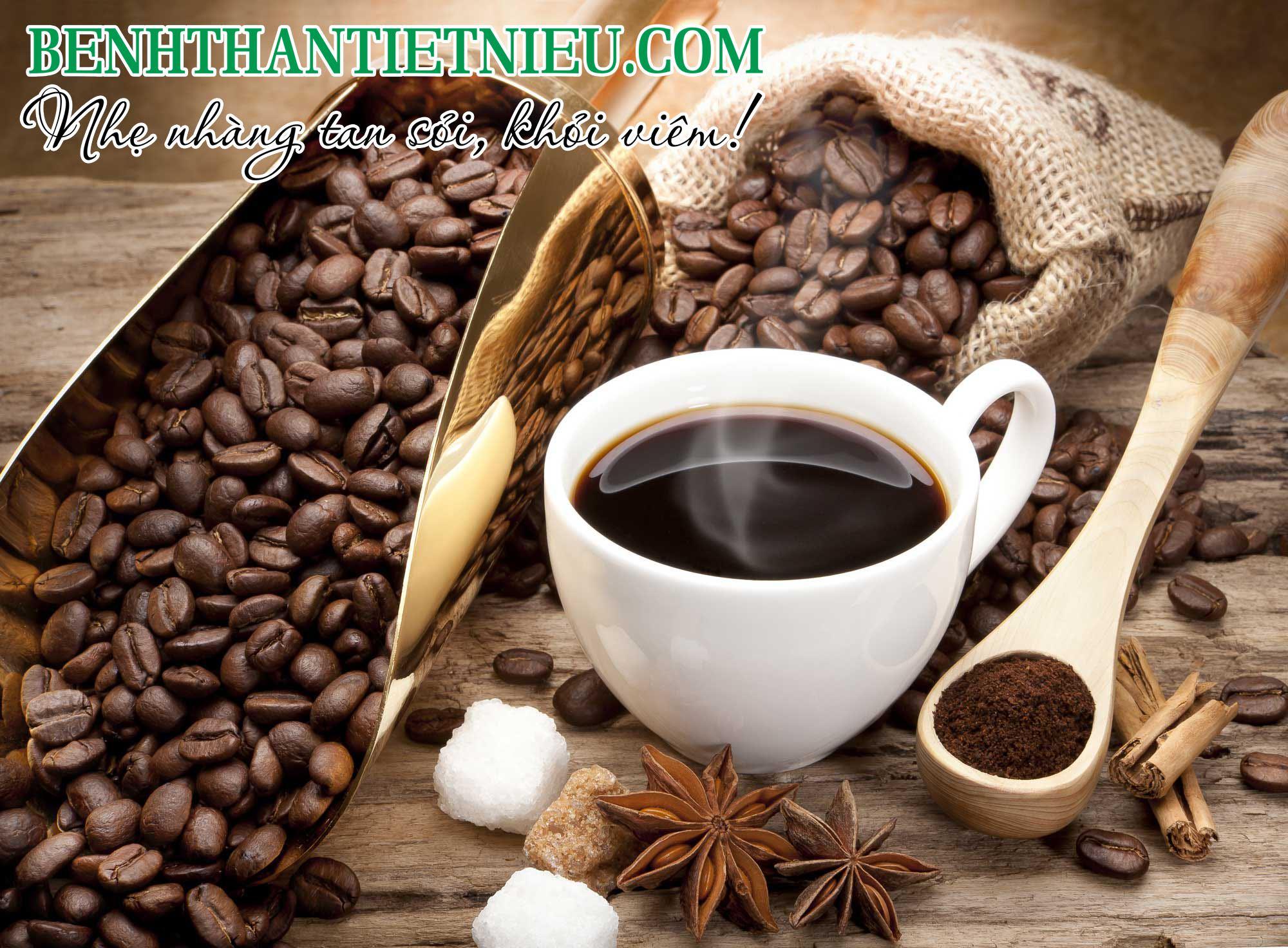 Cà phê chứa nhiều oxalate có thể gây sỏi tiết niệu